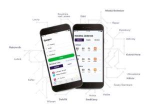 auto mobilní aplikace Lítačka PID