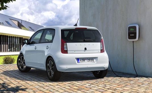 auto elektromobil Škoda Citigo-e iV