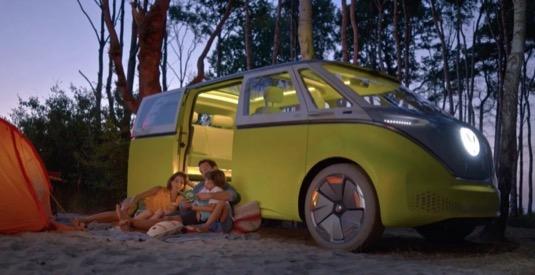 auto elektromobil elektrický mikrobus Volkswagen ID Buzz