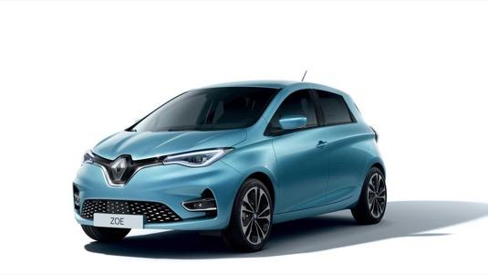 auto elektromobil Renault Zoe 2019 facelit