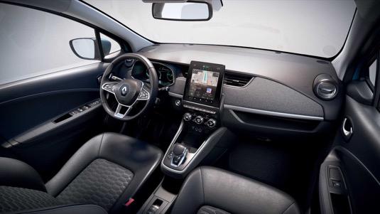 Interiér nového Renaultu Zoe