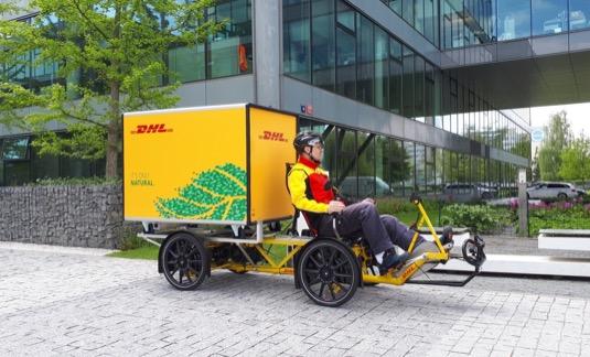 Toto speciální nákladní elektrokolo uveze 150 kg zásilek