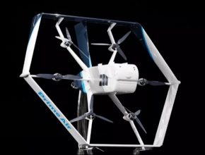 létající přepravní doručovací dron Amazon Prime Air