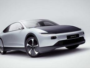 auto elektromobil solární Lightyear One