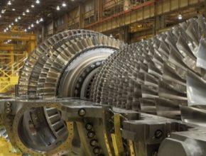 elektrárna turbína GE