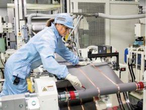 auto výroba baterií továrna LG Chem
