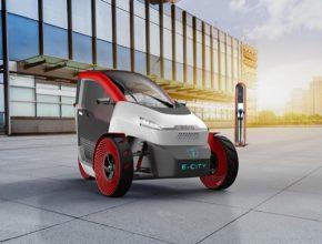 auto elektromobil tříkolka Beko e-city