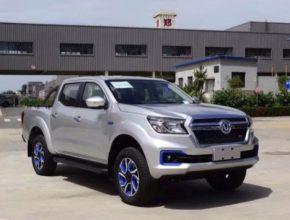 auto elektromobil Dongfeng Rich 6 EV