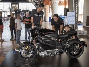 elektromotorka elektrická motorka Harley-Davidson LiveWire