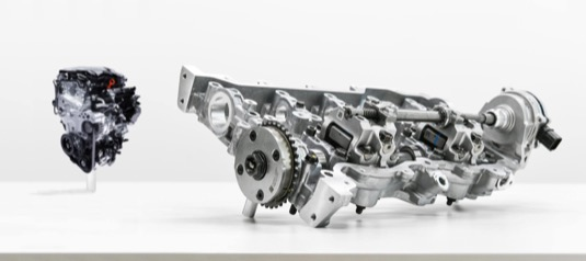 Motory CVVD zvyšují výkon o 4 % a zlepšují spotřebu paliva o 5 % při snížení emisí o 12 %.