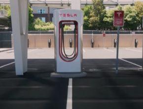 nabíjecí stanice Tesla Supercharger V3 Las Vegas Caesars Palace