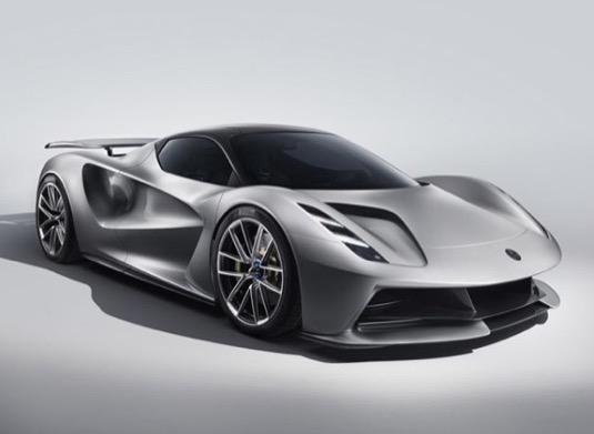 auto elektromobil Lotus Evija