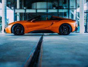 auto plug-in hybrid BMW i8 test
