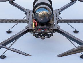 vodíkový dron Hycopter