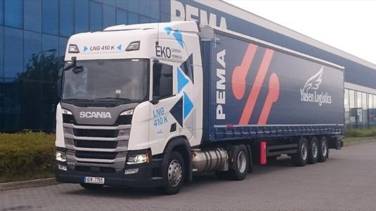 PEMA spolupracuje na testování dopravní techniky poháněné zkapalněným zemním plynem