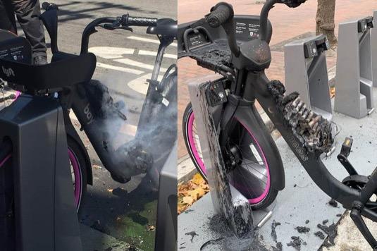 Bikesharing Lyft stáhnul tento týden všechna sdílená elektrokola z ulic San Francisca protože se objevilo několik případů samovolného zahoření.