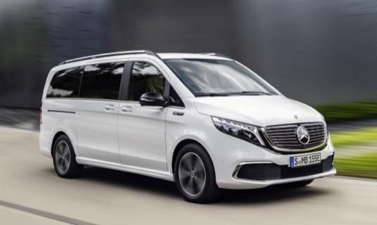 auto elektromobil Mercedes-Benz EQV