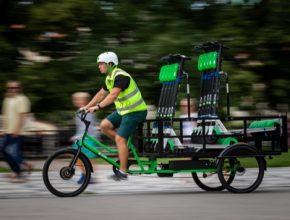 Cargo kola Lime vnímá jako nejvhodnější možný prostředek pro převoz koloběžek v samotném jádru města a pro jejich nasazení se firma rozhodla i v důsledku diskuzí se zástupci města a s experty na udržitelnou mobilitu i městkou logistiku.