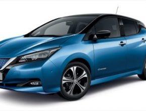 auto elektromobil Nissan Leaf nová generace