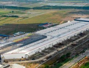 auto Gigatovárna 3 Gigafactory Šanghaj Čína