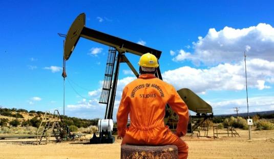 Těžba ropy - ropný vrt