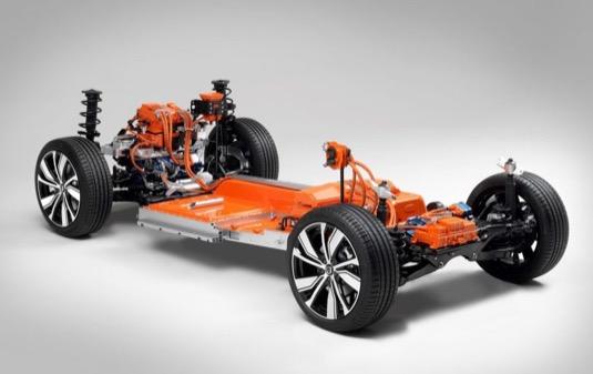 auto elektromobil Volvo XC40