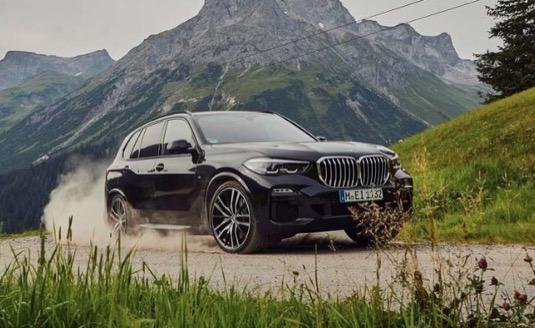 auto plug-in hybrid BMW X5 xDrive45e