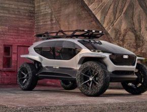 Audi završuje kvarteto svých vizionářských vozů a na IAA 2019 vystavuje elektricky poháněný terénní automobil pro budoucí dopravu.