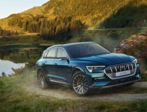 auto elektromobily Audi e-tron baterie