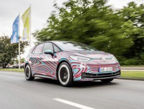 ID.3 je prvním zcela elektricky poháněným elektromobilem na základě nové platformy MEB