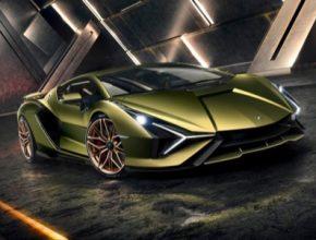 auto hybrid Lamborghini Sián
