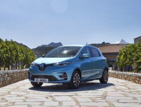 auto nový elektromobil Renault Zoe
