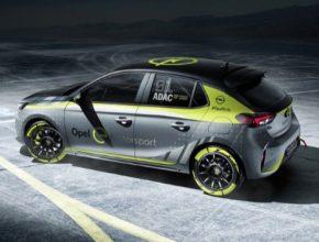 Opel Corsa-e Rally elektromobil závodní speciál