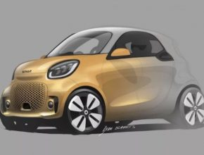 auto elektromobil Smart EQ fortwo