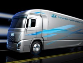 auto vodíkové nákladní auto Hyundai