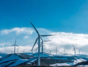 větrná elektrárna Itálie