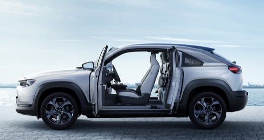 auto elektromobil Mazda MX-30