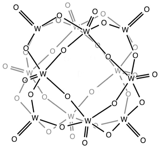 Příklad toho jak takový klastr může vypadat ve strukturním znázornění.