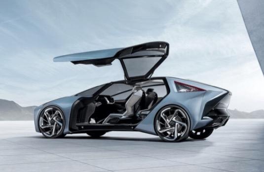 koncept elektromobilu Lexus LF-30