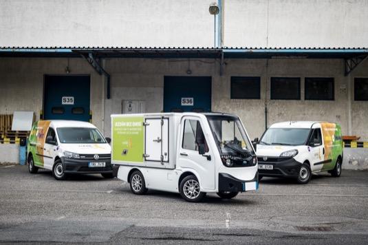 Kromě unikátního elektromobilu využívá e-shop Rohlik.cz také auta na stlačený zemní plyn