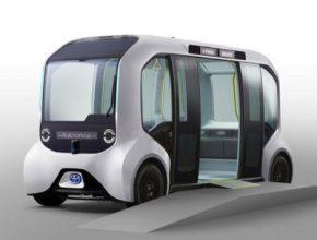 Bateriové elektromobily s autonomním řízením byly upraveny speciálně pro potřeby her, částečně i na základě zpětné vazby od sportovců, kteří informovali o svých potřebách.