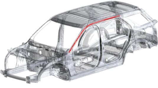 Posádku i akumulátor chrání součásti, vyráběné s využitím inovativních patentovaných procesů. Euro NCAP vyzdvihla rovněž bezpečnostní technologie Exploreru.