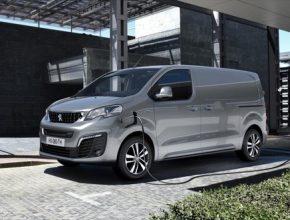 elektromobil elektrická dodávka Peugeot e-Expert