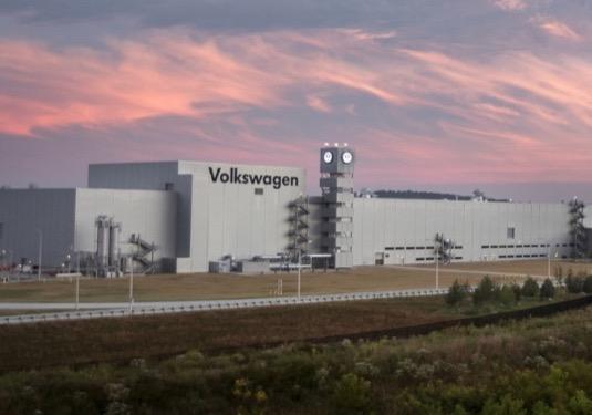 auto továrna Volkswagen Chattanooga