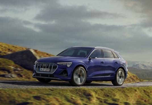 Modernizovaný elektromobil Audi e-tron