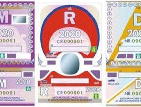 auto dálniční známka 2020 Česká republika