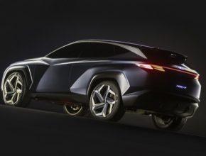 Vision T je sedmým koncepčním vozem designérského centra Hyundai, který ztělesňuje aktuální designérský styl společnost Hyundai Motor Company