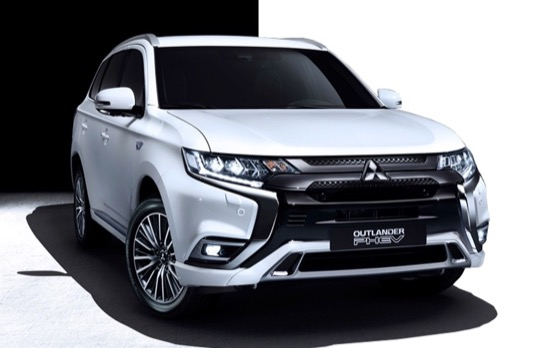 Mitsubishi Outlander PHEV je nejprodávanější plug-in hybrid v Evropě (napříč všemi segmenty) v letech 2015, 2016 a 2017.