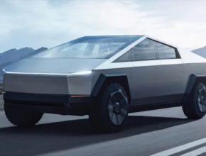 auto Tesla pick-up truck Cybertruck