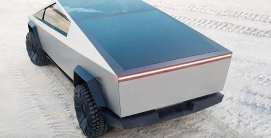 Tesla Cybertruck elektromobil